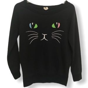 Love Tree Cat Sweatshirt S